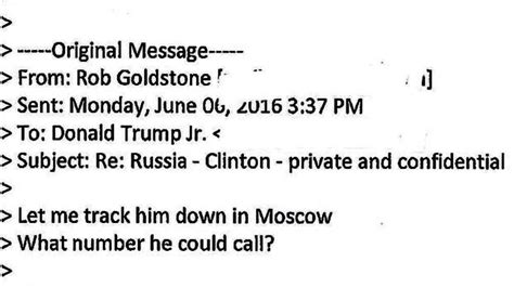 donald trump email read the emails on donald trump jr s russia meeting the