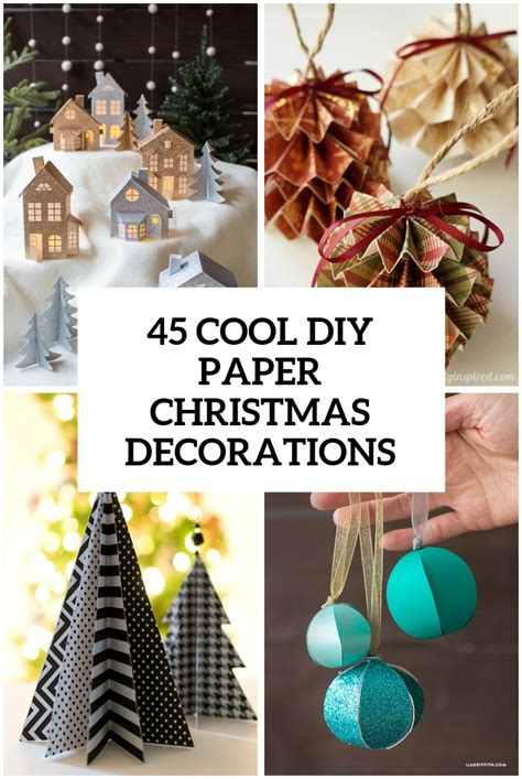 diy decorations cardboard 45 wonderful paper and cardboard diy decorations