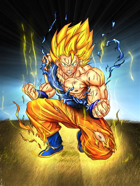 imagenes en 3d goku goku vs vegeta who would really win battles comic vine