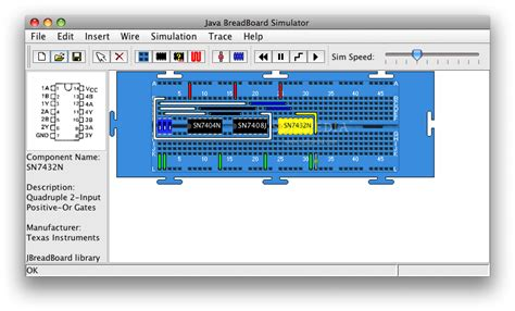 breadboard circuit simulation java breadboard simulator vishnu s
