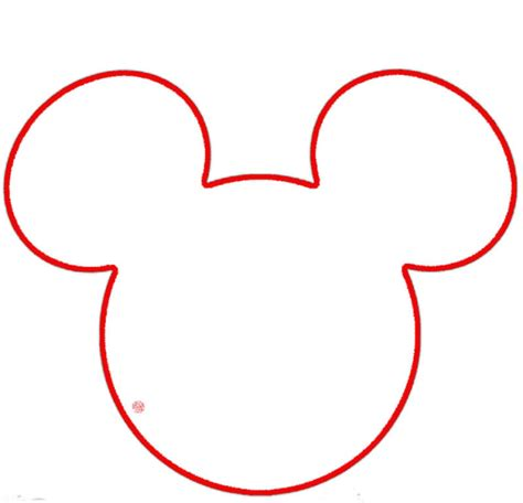 template mickey mouse mickey mouse outline cliparts co