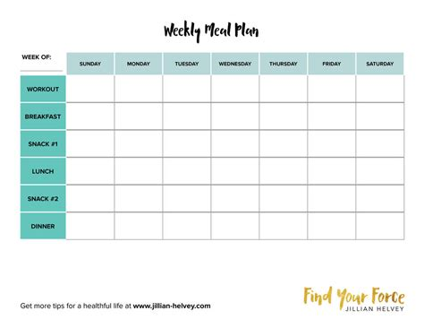 printable meal planning sheets recipe planner template printable recipe sheet template