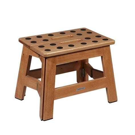 Jas Merk Wood Capventure Foldable Stool Wood