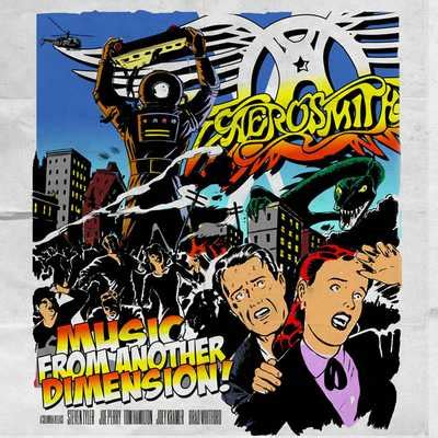 aerosmith 14 something aerosmith il of di from another dimension