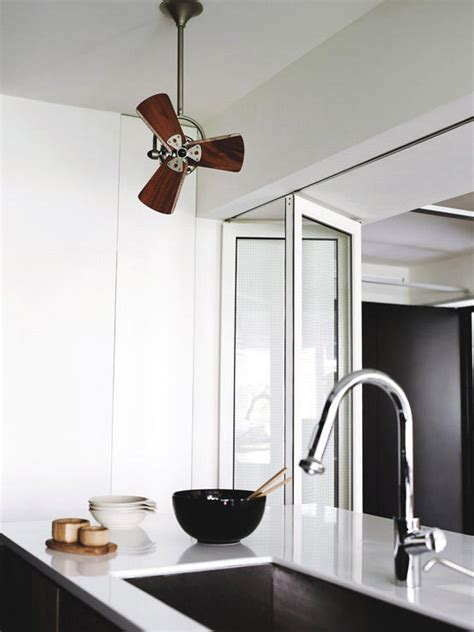 stylish ceiling fans  modern spaces home decor