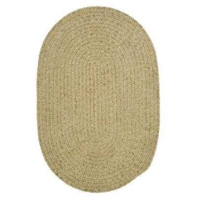 Home Depot Oval Rugs by Home Decorators Collection Dover Chenille Celery 5 Ft X 7