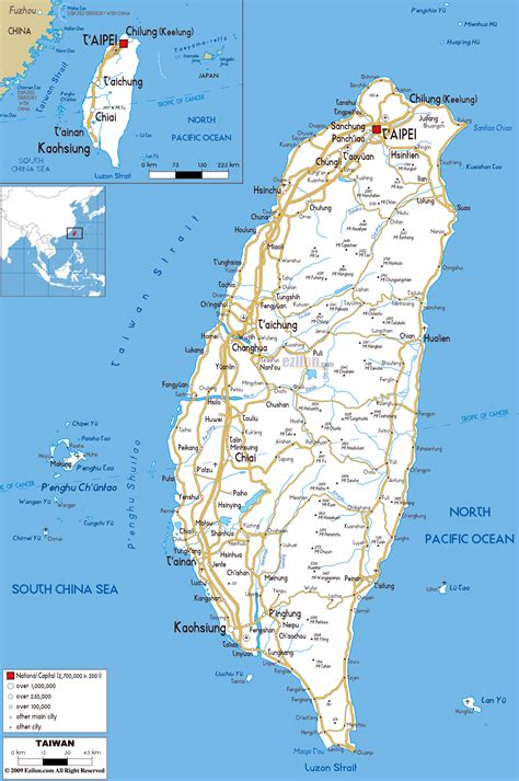 the map in maps of taiwan detailed map of taiwan in
