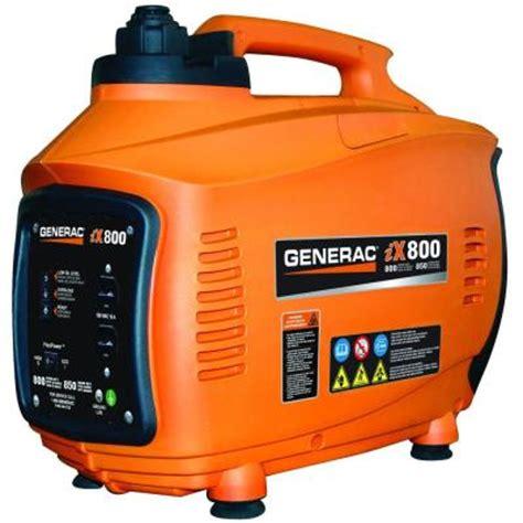 generac 800 watt gasoline powered portable generator 5791