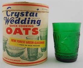 wedding oats national depression glass association home page