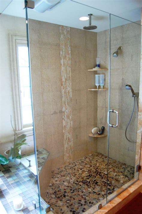 Shower Designs For Bathrooms Modern Bathroom Shower Tile Ideas Square White Plain Innovation Polished Fiberglass Wall