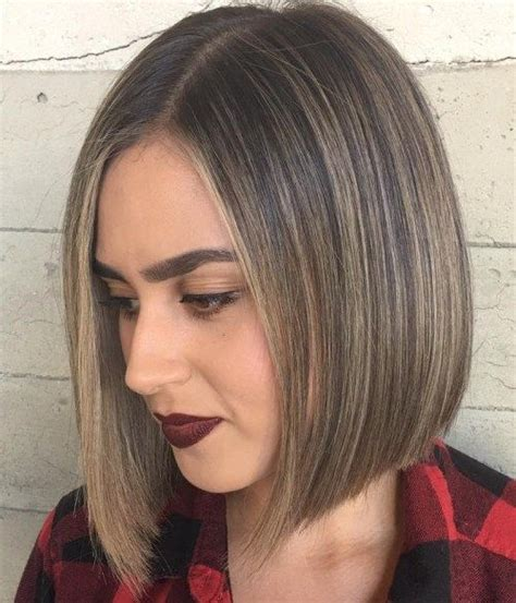 bob hairstyles are not generally layered yet just a or angled that are neck length and