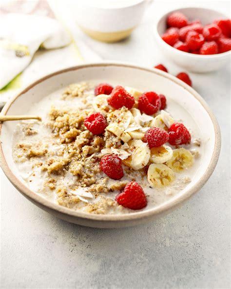 Detox Vegan Breakfast by Instant Pot Make Ahead Detox Quinoa Breakfast Bowls