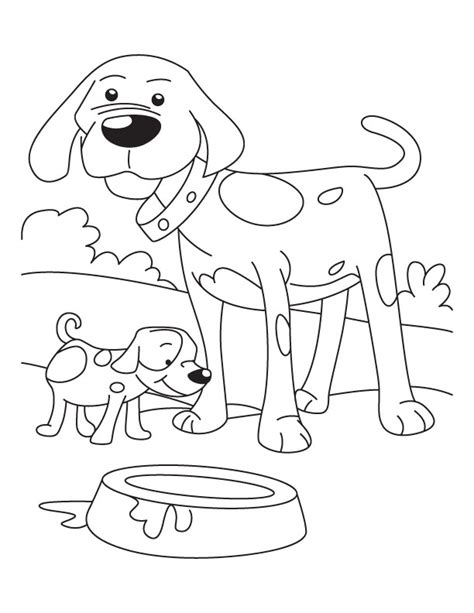 coloring pages of dog and puppy coloring pages of dogs and puppies az coloring pages