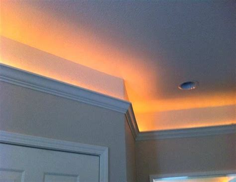 crown molding lighting and how to make it garden design