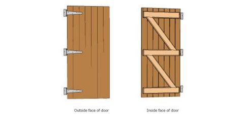 Shed Roof Design The Traditional Way Of Building A Shed Door That Will Last