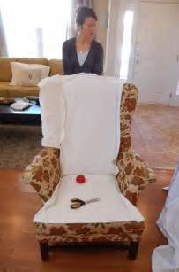 how to make chair covers how to make slipcovers