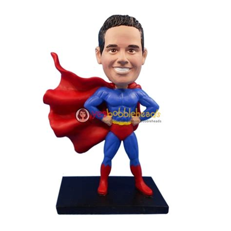 bobblehead yourself custom superman bobbleheads custom bobbleheads
