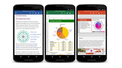 apps for android phones new microsoft office apps arrive for android smartphones