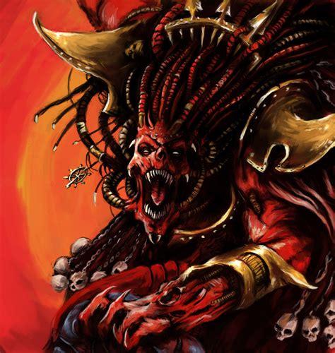 daemon prince angron 40k vs demon lord trigon dc