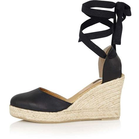 topshop closed toe sandals topshop warmth tie wedges 85 found on polyvore
