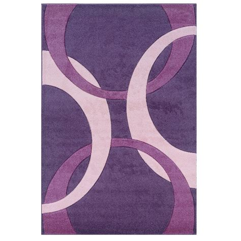 Baby Pink Area Rug Linon Home Decor Corfu Collection Purple And Baby Pink 8 Ft X 10 Ft 3 In Indoor Area Rug Rug