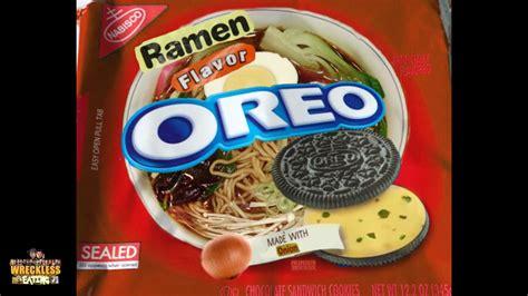 Oreo Thins Vanila Flavour 95g will it cookie ramen flavor oreo