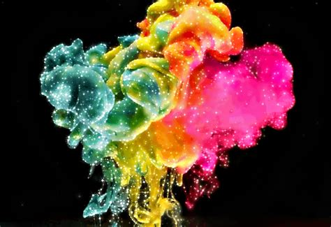 colorful explosion wallpaper color explosion wallpaper wallpapersafari