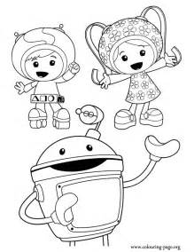 umizoomi coloring pages a beautiful picture of team umizoomi here are geo milli