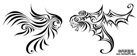 魔鬼与天使简笔画图片展示 魔鬼与天使简笔画相关图片下载