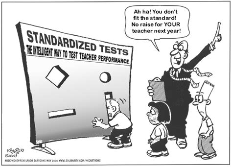 performance evaluation sles standardized testing review let s make teaching to the