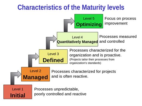 file characteristics of capability maturity model svg
