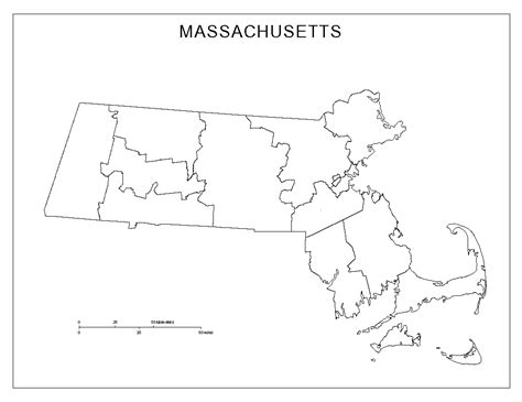 massachusetts blank map
