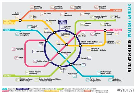 route map sydney festival 2015 route map cameron booth