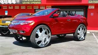 Nissan Murano Drop Top Yes This Is A Nissan Murano Convertible On 34 Inch Wheels