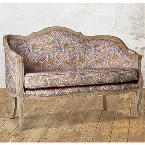 paisley loveseat 8 reasons to go crazy for paisley ideal home