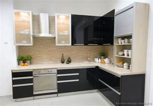 Modern Kitchen Cabinets by Pictures Of Kitchens Modern Black Kitchen Cabinets