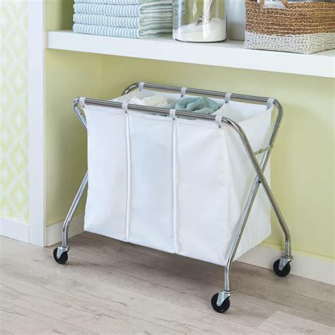 3 laundry sorter laundry sorter heavy duty 3 bin laundry sorter with