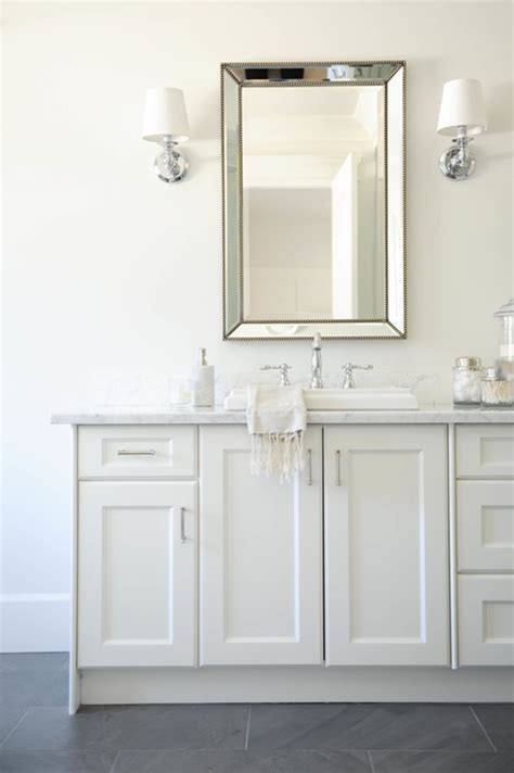 bathroom mirrors over vanity five ways to update a bathroom centsational girl