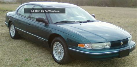 1997 chrysler lhs specs pictures trims colors cars com 1997 chrysler lhs sedan