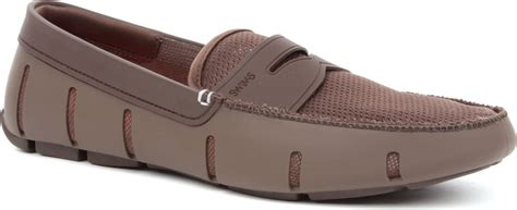 swims rubber loafers swims rubber loafers in brown for lyst