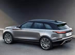 Luxury Car Interiors Range Rover Velar Unveiled At London S Design Museum