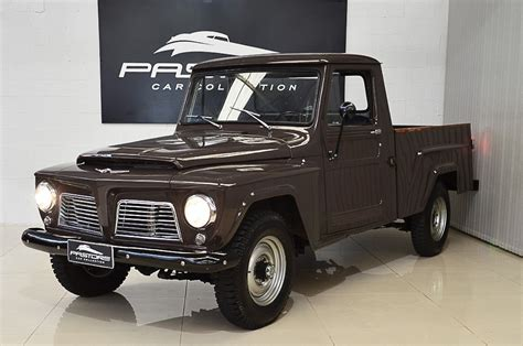 imagenes de pick up jeep willys willys f 75 pickup 1968 pastore car collection