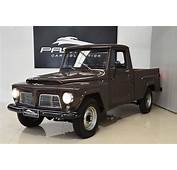 Willys F 75 Pickup 1968  Pastore Car Collection