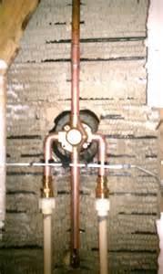 plumbing shower valve installation