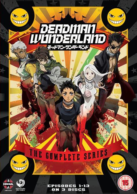 list dvd anime television review deadman wonderland blu ray deadman