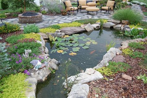 Backyard Pond Images 53 cool backyard pond design ideas digsdigs