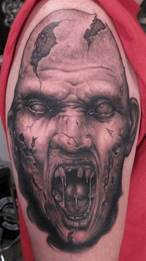 zombie tattoo photo girl tattoos