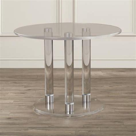 three leg table base three acrylic leg base table