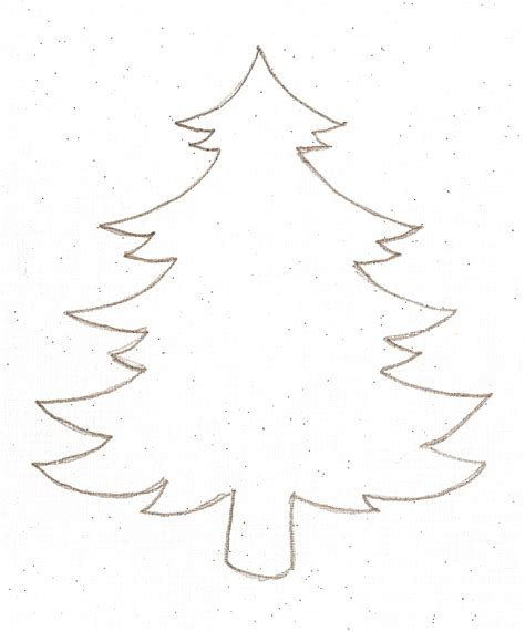 Kar 225 Csonyfa Sablon Adventi Napt 225 R Pinterest Tree Template For Cards