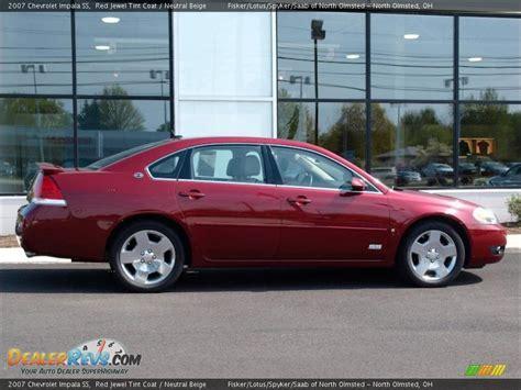 impala ss 2007 2007 chevrolet impala ss tint coat neutral